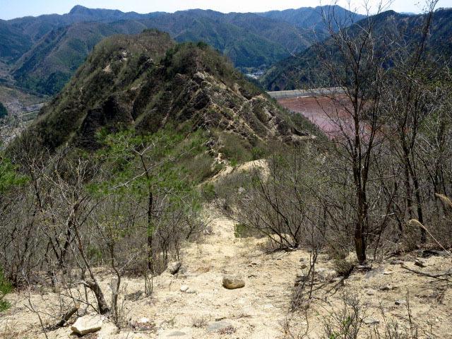 2.6石垣山からの白ザレ.JPG