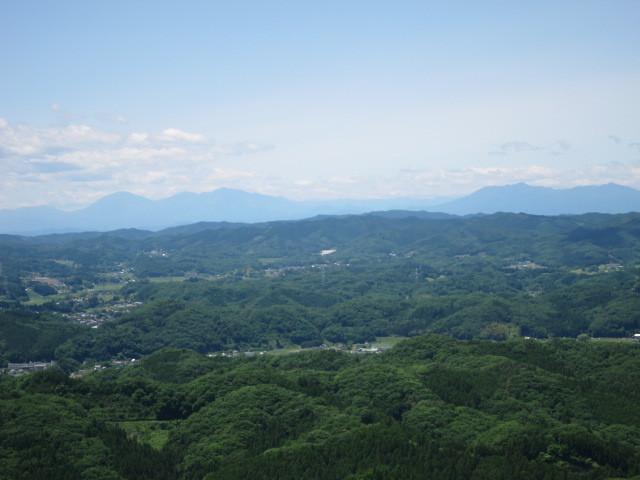 2.9日光連山と高原山.JPG